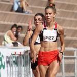 Isidora Jiménez y Daniel Pineda fueron las grandes figuras en el Campeonato de Salto y Velocidad