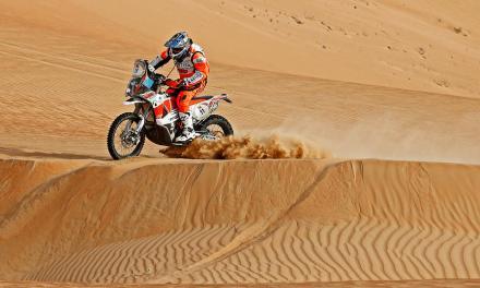 Pablo Quintanilla consiguió podio en la primera fecha del Mundial de Rally Cross Country