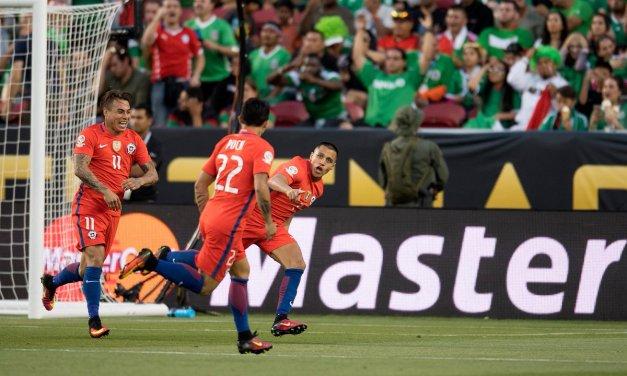 Chile rió último y mejor: Clasifica a semifinales de la Copa Centenario con impresionante goleada sobre México
