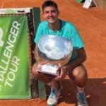 Tomás Barrios gana el primer título Challenger Tour de su carrera