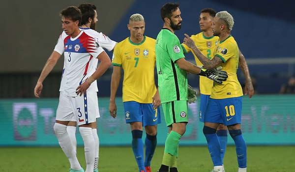 #CopaAmérica 2021: #LaRoja, otra vez eliminada por Brasil