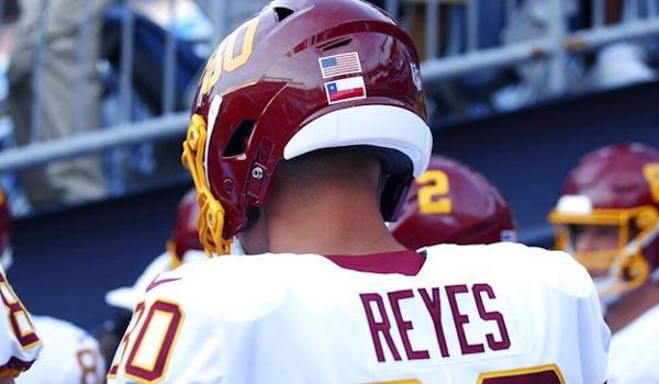 Sammis Reyes se convirtió en el primer chileno en jugar en la NFL