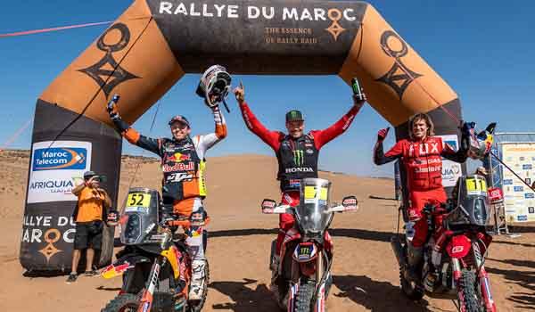 Pablo Quintanilla es el campeón del Rally de Marruecos 2021