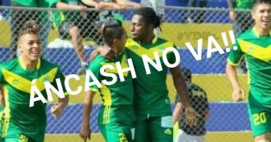 Sport Ancash no jugará en la Primera División este 2018