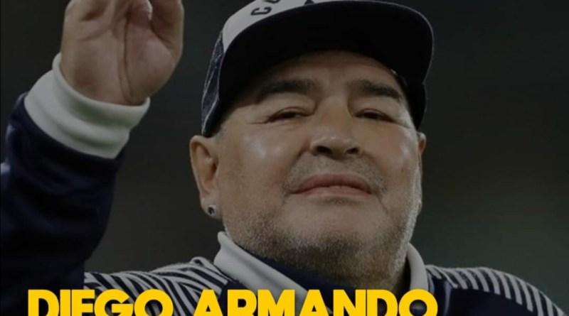 DIEGO ARMANDO MARADONA FALLECIÓ