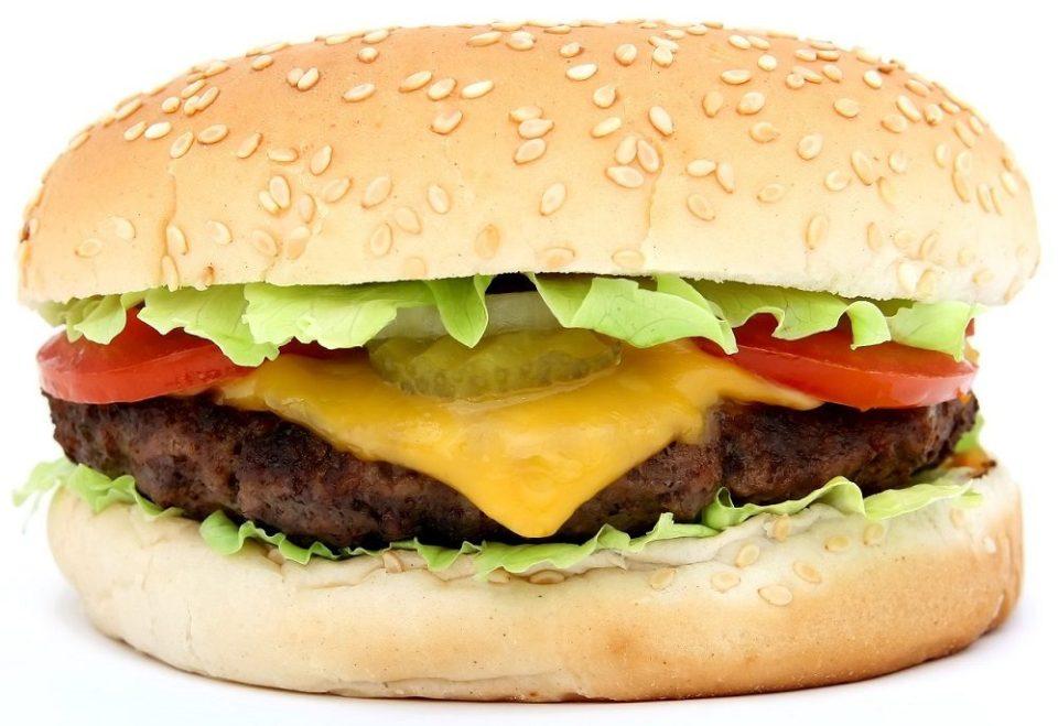 Hamburguesa de ternera con queso