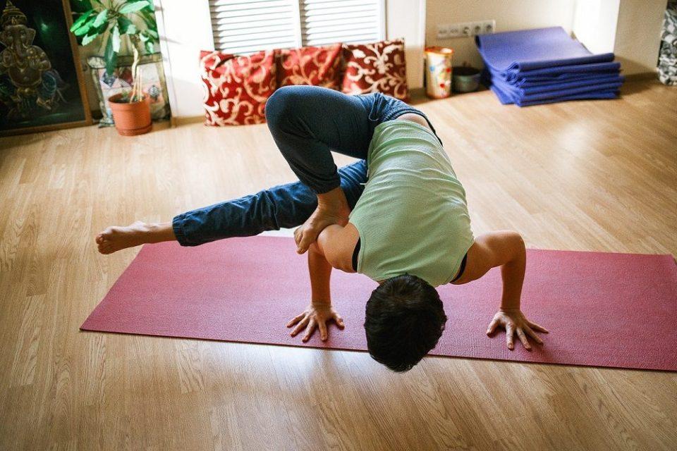 El yoga aumenta la flexibilidad