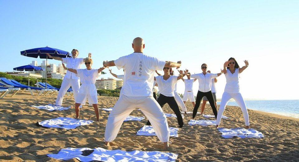 El yoga puede practicarse en cualquier lugar