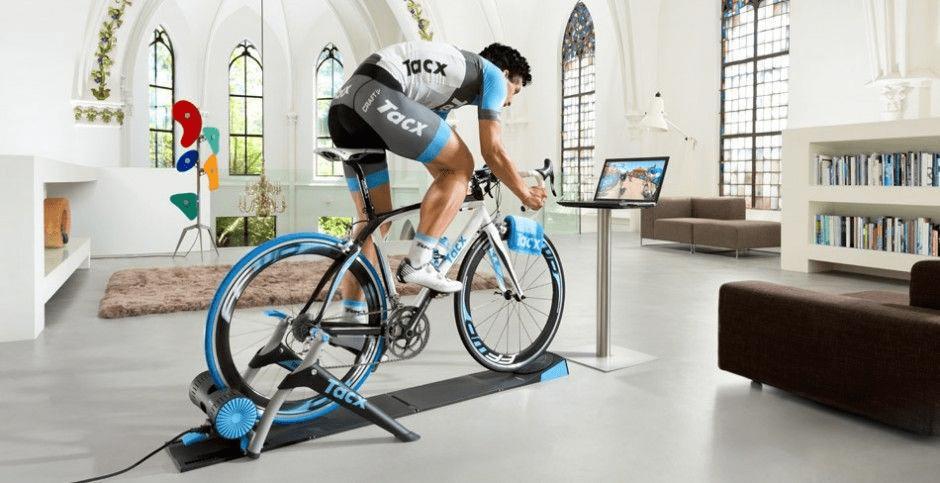 entrenar ciclismo en casa