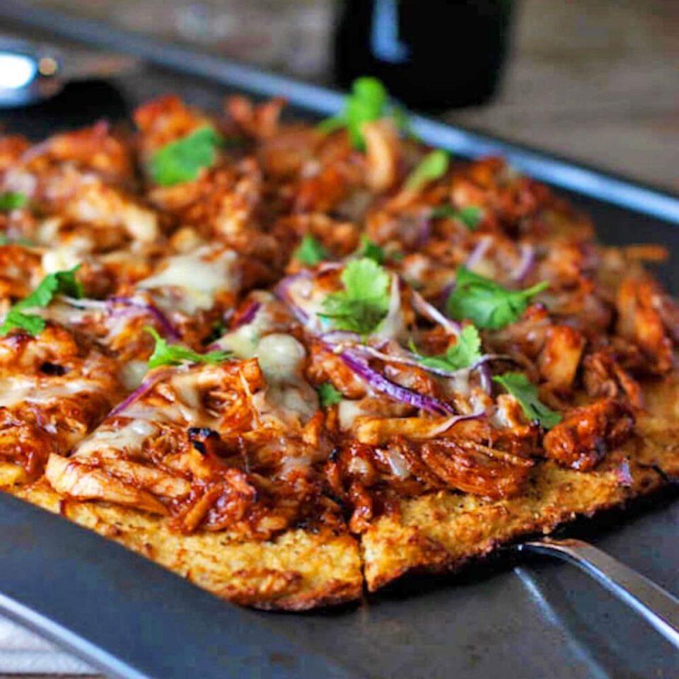 pizza barbacoa, recetas de pizza saludables