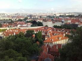 Vista de parte de Praga desde Hradcan