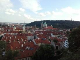 Otra vista de parte de Praga desde Hradcan