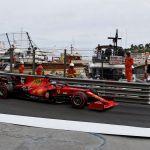 Leclerc, pole y accidente en Mónaco