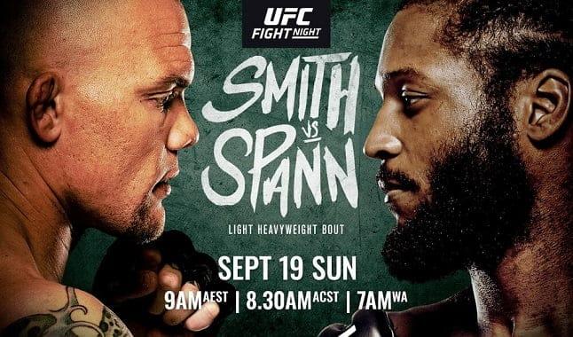 ufc vegas 37 smith vs spann