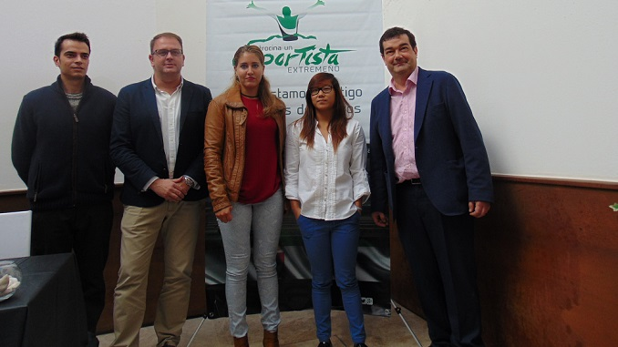 Estefanía Fernández e Isabel Yinghua presentadas en Patrocina un Deportista