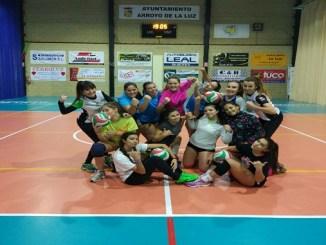 El Extremadura Arroyo 30 cadete comienza mañana su participación en la IV Copa de España de Voleibol en Guadalajara