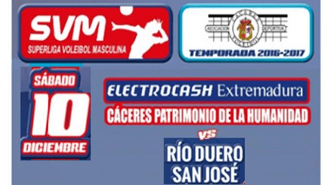Derrota del Electrocash frente a Río Duero en Cáceres