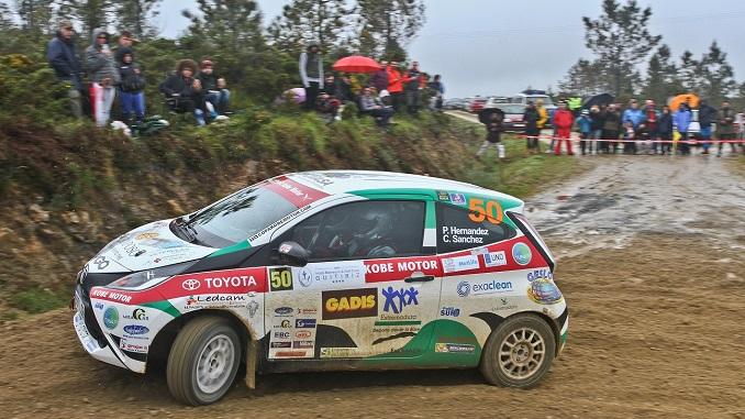 Dos extremeños en la Copa Kobe Motor del Campeonato de España de Rallyes de Tierra