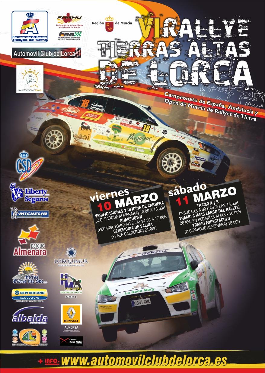 El Extremadura Rallye Team - Rallye Lorca 2017