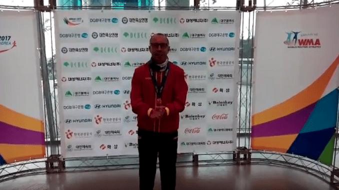 Miguel Periañez se proclama bicampeón del Mundo en Corea