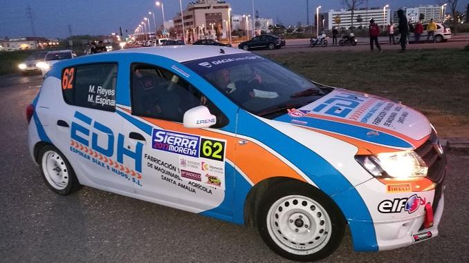 Séptima plaza para Reyes y Espinar en la Dacia Sandero del XXXV Rallye Sierra Morena