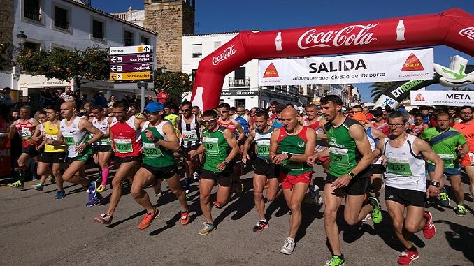 Salida XII Media Maratón Alburquerqeu