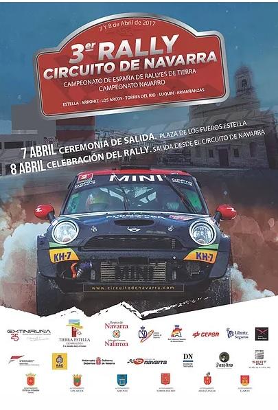 Cartel - Segunda cita de la Copa Kobe Motor para el Extremadura Rallye Team