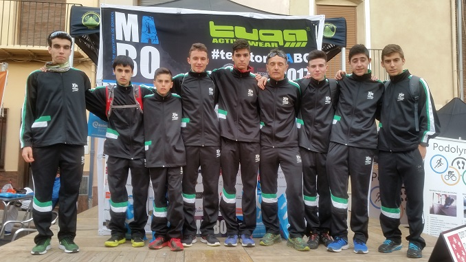 II Prueba de la Copa de España de Carreras por Montaña en Borriol, Castellón