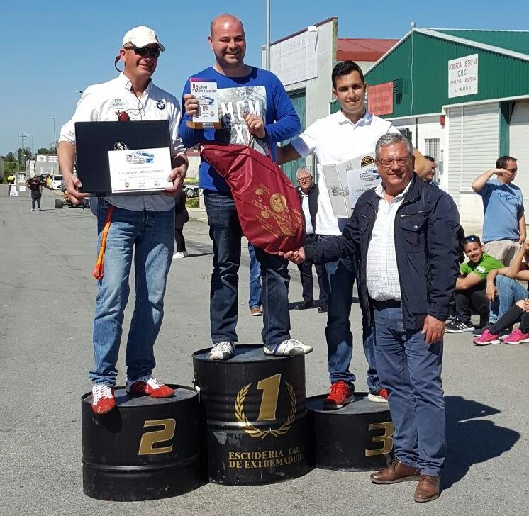 José Manuel Gallego Pilo se lleva la victoria en el II Slalom de Monesterio