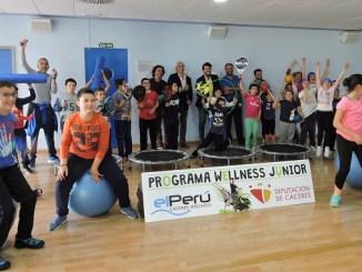 Programa Wellness Júnior lleva deporte a 1.000 niños Cáceres