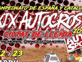 Segunda cita del Campeonato de España de Autocross con presencia extremeña