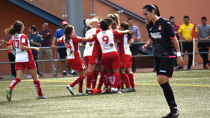 Victoria contundente ante el RCD Espanyol para seguir en la pelea
