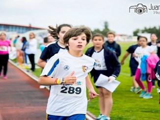 """El Colegio Santa María de la Coronada ha conseguido el triunfo de la general del """"Torneo Diviértete con el atletismo Iberfan"""""""
