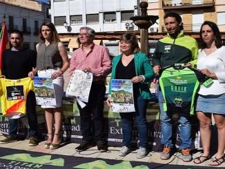 El Extremadura Ecopilas al completo en la Titán Villuercas de Logrosán