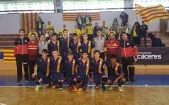La selección extremeña, atrapada en la 'guerra' por el primer puesto entre Cataluña y Madrid