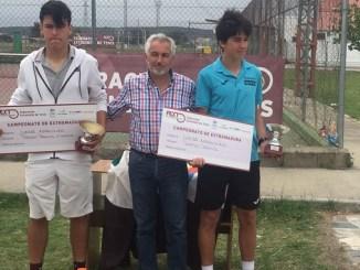 Resumen de las finales del Campeonato de Extremadura Junior clasificatorio para el nacional