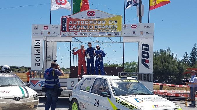 Victoria de Jonathan Vázquez en el Autocross de Castelo Branco