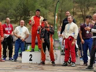 Buena actuación de los extremeños en el V Autocross Escudería Cerro Negro