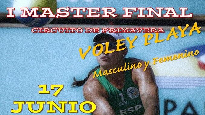 Máster Final del Circuito de Extremadura de Voley Playa, en Navalvillar de Pela