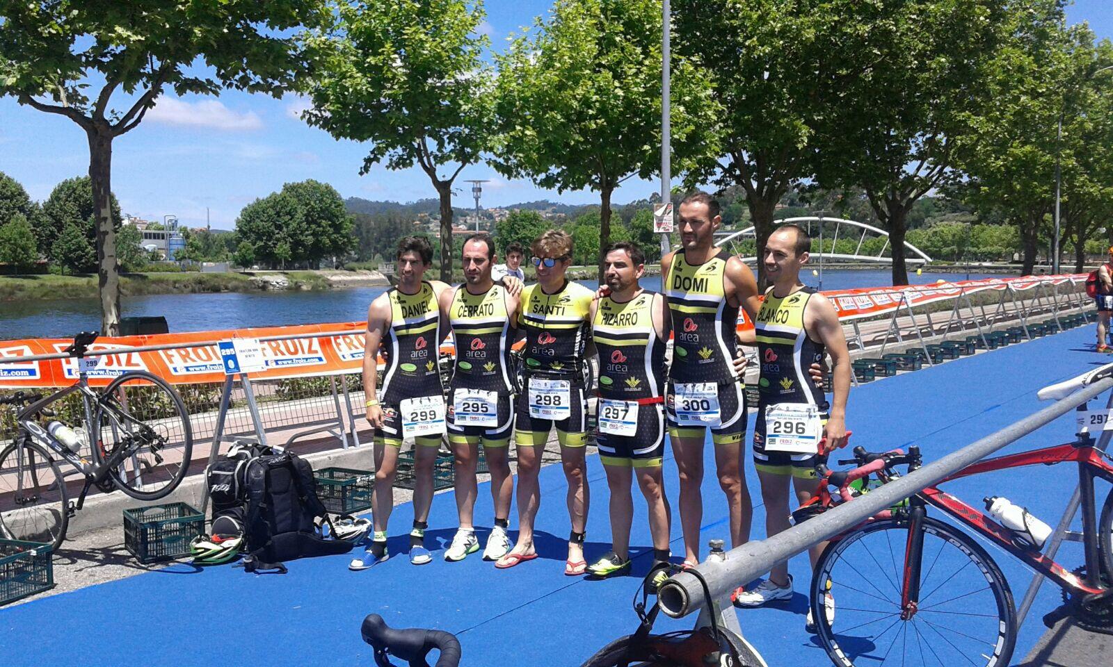 Maria Rico, campeona de España de triatlón por Clubs