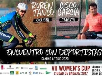 Los deportistas Cisco García y Rubén Tanco estarán en la VII Women's Cup 2017