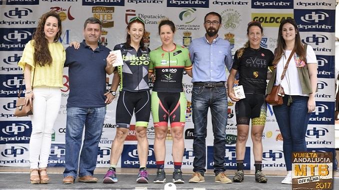 Rocío Martín se adjudica la general de la Vuelta Andalucía MTB