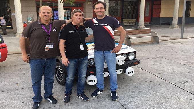 Victoria de Reales y Barriga en el V Rallye-Entresierras Histórico en Guijuelo