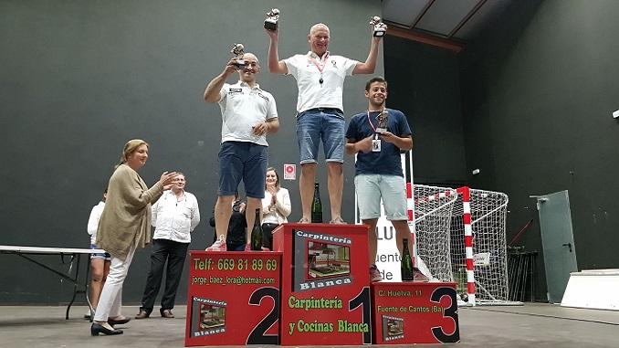 Caballero sigue de dulce con su triunfo en el IV Slalom Fuente de Cantos