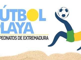 Campeonato de Extremadura de Fútbol Playa Cadete en Navalmoral de la Mata
