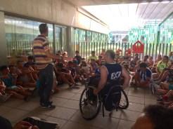 Deporte e integración en las jornadas del CEIP Nuestra Señora de Bótoa + Partido en Campo Maior (1)