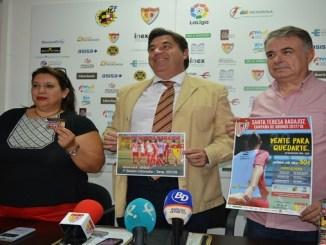 El Santa Teresa Badajoz inicia la campaña de abonos 20172018 #20paraquedarte