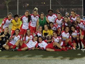 El Santa Teresa Badajoz golea al Boavista FC en su presentación