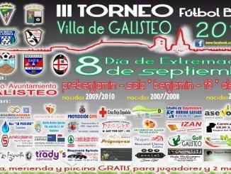 III Torneo de Fútbol Base Villa de Galisteo