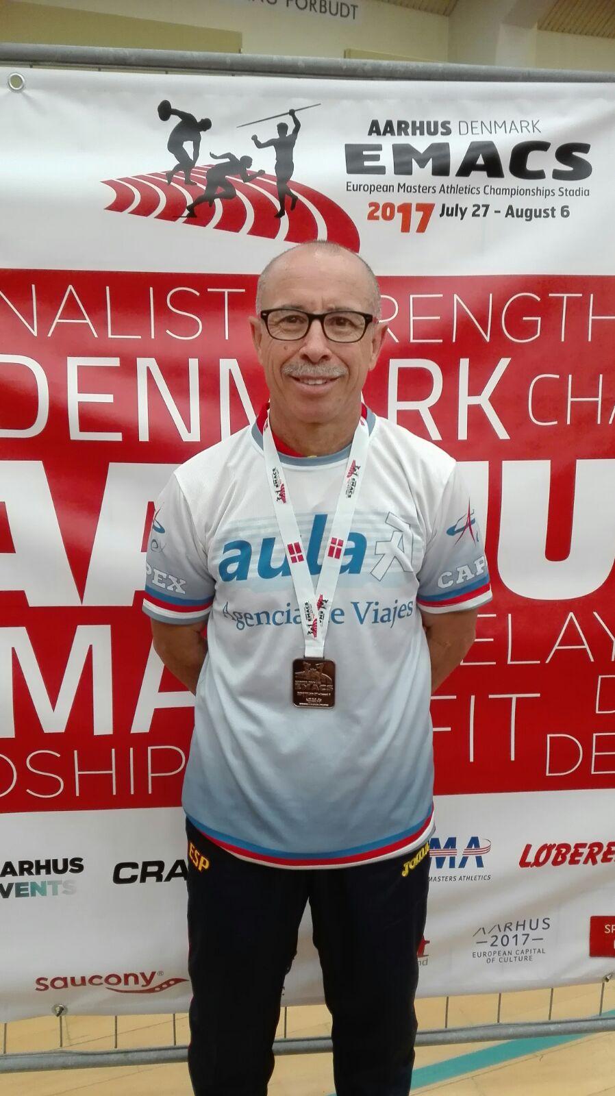 Miguel Periañez Consigue el Tercer puesto en el Campeonato de Europa Veteranos